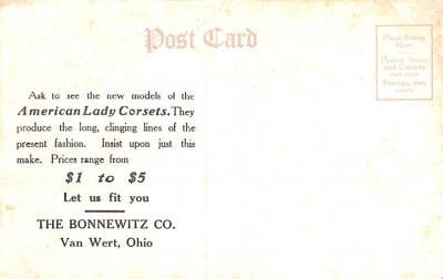 adv012495 - Advertising Post Card  back