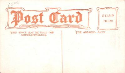 adv013031 - Advertising Post Card  back