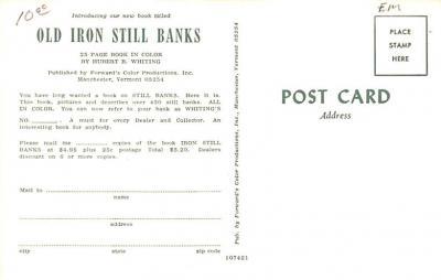 adv015025 - Advertising Post Card  back