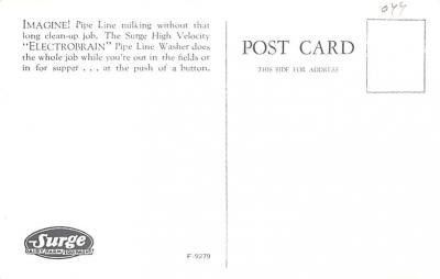 adv016167 - Advertising Post Card  back