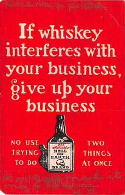 adv018015 - Wine and Liquor Advertising Old Vintage Antique Post Card
