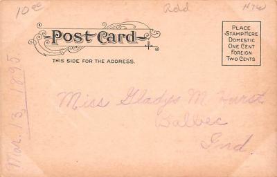 adv020005 - Furniture Advertising Old Vintage Antique Post Card  back