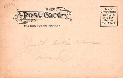 adv020007 - Furniture Advertising Old Vintage Antique Post Card  back