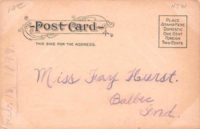 adv020009 - Furniture Advertising Old Vintage Antique Post Card  back