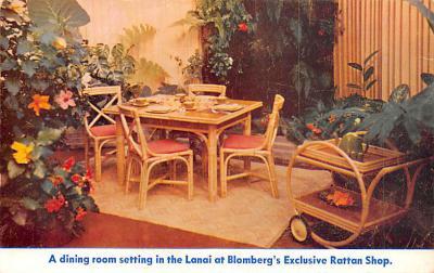 adv020019 - Furniture Advertising Old Vintage Antique Post Card