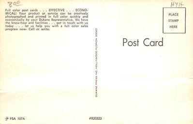 adv020021 - Furniture Advertising Old Vintage Antique Post Card  back