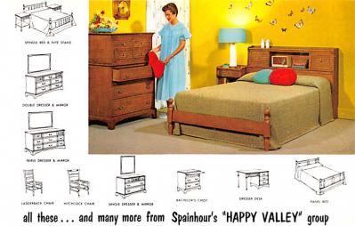 adv020077 - Furniture Advertising Old Vintage Antique Post Card