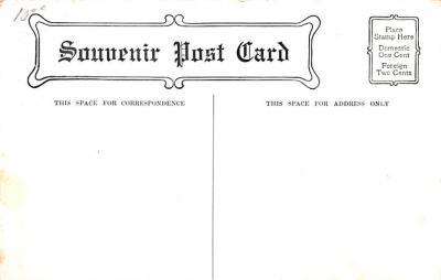 adv022019 - Hardware Advertising Old Vintage Antique Post Card  back