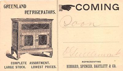 adv022063 - Hardware Advertising Old Vintage Antique Post Card
