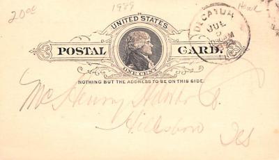 adv022063 - Hardware Advertising Old Vintage Antique Post Card  back