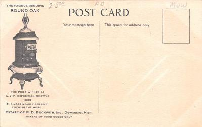 adv022223 - Hardware Advertising Old Vintage Antique Post Card  back