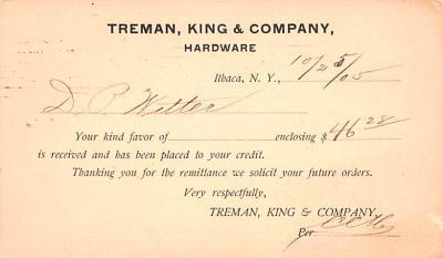 adv022445 - Hardware Advertising Old Vintage Antique Post Card  back