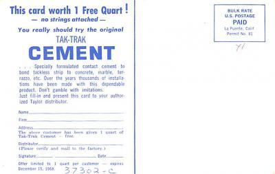 adv022467 - Hardware Advertising Old Vintage Antique Post Card  back