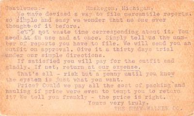 adv022479 - Hardware Advertising Old Vintage Antique Post Card