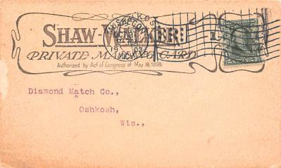 adv022479 - Hardware Advertising Old Vintage Antique Post Card  back