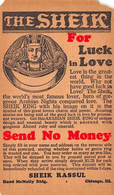 adv026077 - Jewelry Advertising Old Vintage Antique Post Card