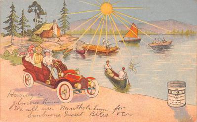 adv028063 - Medicine Advertising Old Vintage Antique Post Card