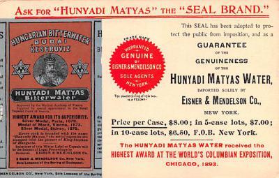 adv028087 - Medicine Advertising Old Vintage Antique Post Card
