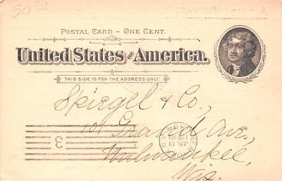adv028087 - Medicine Advertising Old Vintage Antique Post Card  back