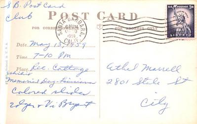 adv030075 - Office Related Advertising Old Vintage Antique Post Card  back