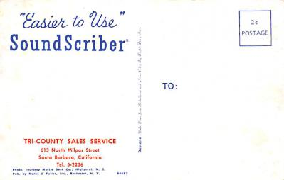 adv030085 - Office Related Advertising Old Vintage Antique Post Card  back
