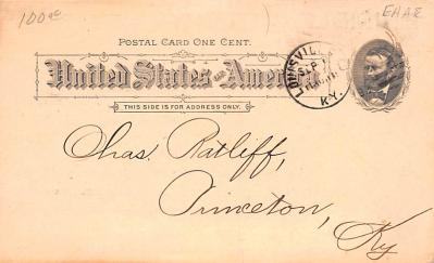 adv033041 - Pionner Advertising (1893 - 1898) Old Vintage Antique Post Card  back