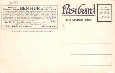 adv035045 - Publications Advertising Old Vintage Antique Post Card  back