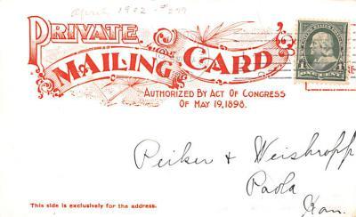 adv035125 - Publications Advertising Old Vintage Antique Post Card  back