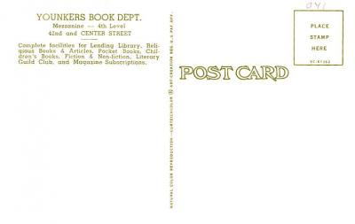 adv035131 - Publications Advertising Old Vintage Antique Post Card  back