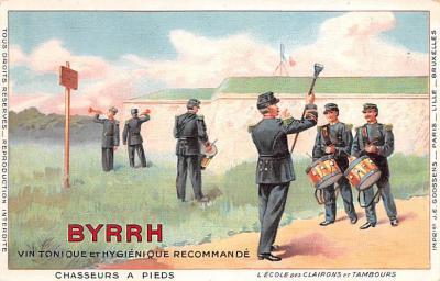 adv100203 - Advertising Byrrh Postcard Tonique Hygienique A Base De Vins Genereux de Quinquina Old Vintage Antique Post Card