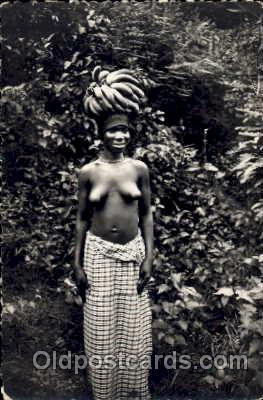 afr001151 - African Nude Nudes Postcard Post Card
