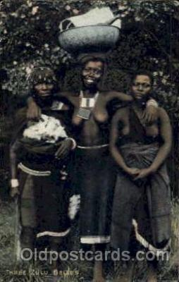 Three Zulu Belles