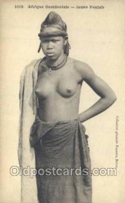 afr001893 - African Nude Nudes Postcard Post Card