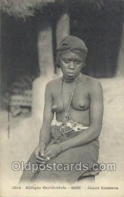 afr001900 - African Nude Nudes Postcard Post Card