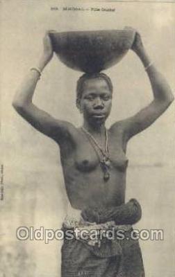 afr001953 - African Nude Nudes Postcard Post Card