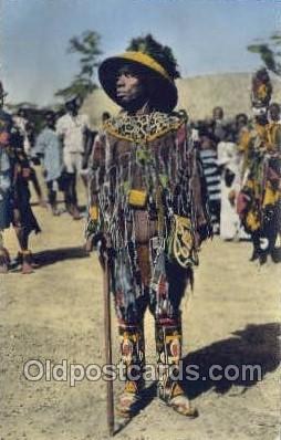 afr100037 - African Life Postcard Post Card