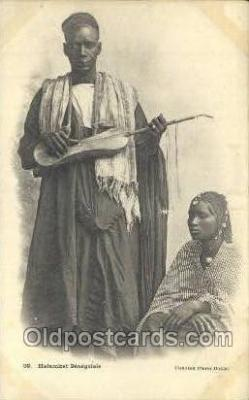 afr100137 - Senegal African Life Postcard Post Card