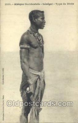 afr100156 - Senegal African Life Postcard Post Card