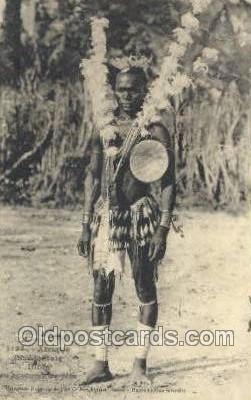 afr100166 - African Life Postcard Post Card