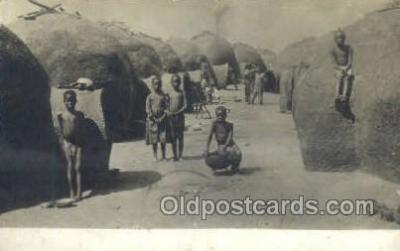 afr100244 - African Life Postcard Post Card