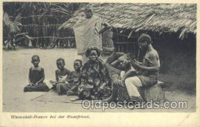 afr100254 - Tunisie African Life Postcard Post Card