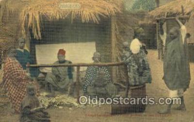 afr100531 - Senegatars African Life Postcard Post Card