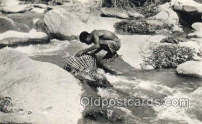 afr100553 - African Life Postcard Post Card