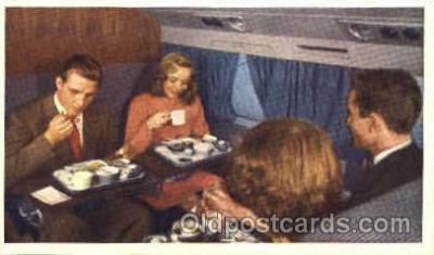 Interior, United DC-6