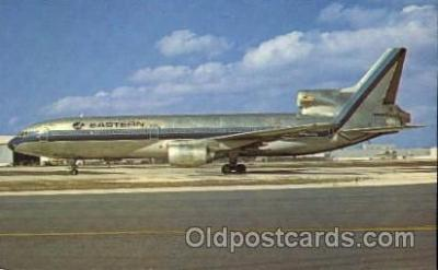 air001098 - Eastern Airlines, L-1011 Airline, Airlines, Airplane, Airplanes, Postcard Post Card