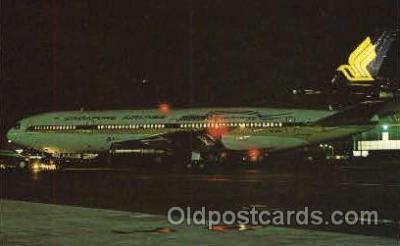 air001108 - Singapore Airlines, Douglas DC-10-30 Airline, Airlines, Airplane, Airplanes, Postcard Post Card