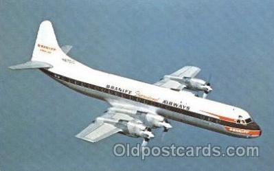 Braniff International Airways, Lockhead L-188 Electra
