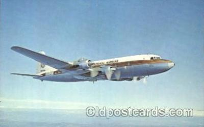 air001113 - Oversea National Airways, Douglas DC-6B Airline, Airlines, Airplane, Airplanes, Postcard Post Card