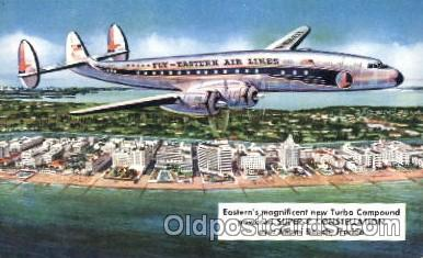 air001160 - Fly-Eastern Airlines,Super-C Airline, Airlines, Airplane, Airplanes, Postcard Post Card