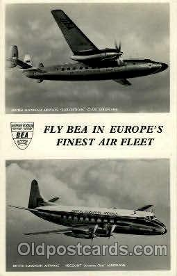 air001241 - Fly Bea Airplane, Aviation, Postcard Post Card